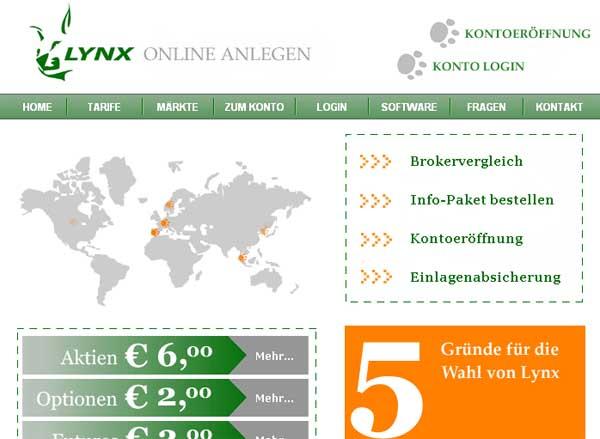 Lynx Neukundenbonus – bis zu 1.000 Euro Orderkosten-Erstattung